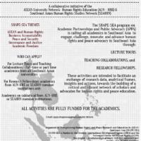 Poster - Regional Call for APPA LTs TCs RCs