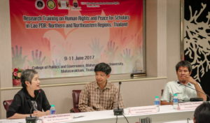 Panel Discussion on Human Rights and Peace issues in Mekong Region