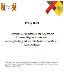 Towards a Framework for Analysing Human Rights Awareness among Undergraduate Students in Southeast Asia/ASEAN